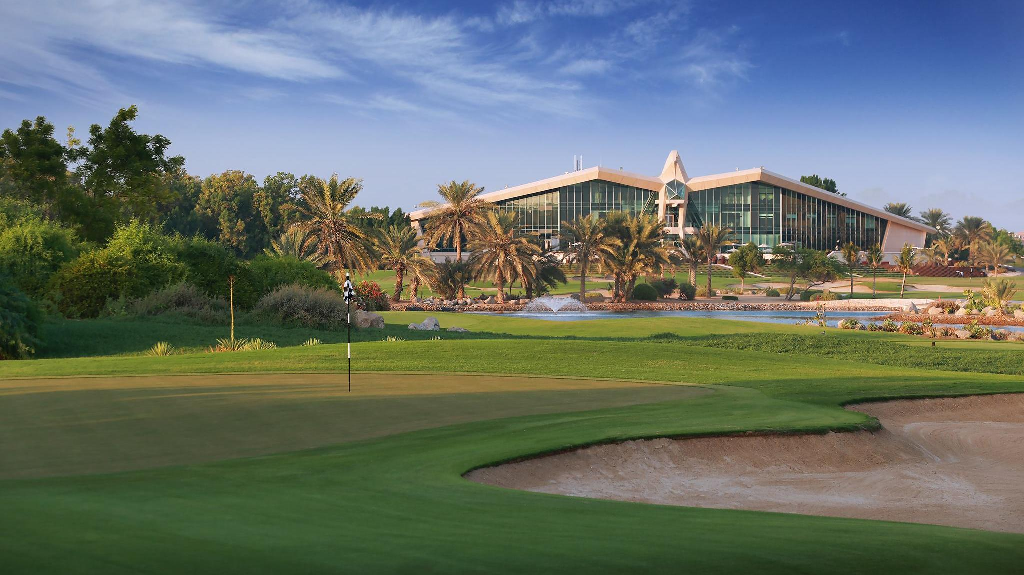Abu dhabi golf championship pictures and images