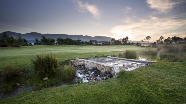 Pearl Valley Golf Club Fairway & Bridge