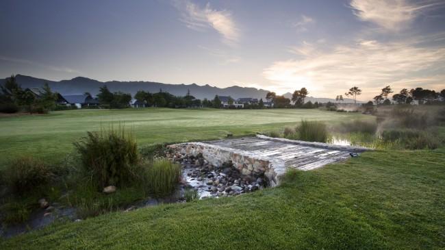Pearl Valley Golf Club Fairway & Bridge