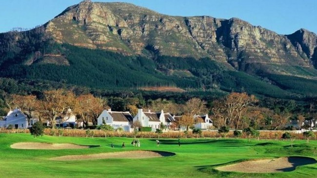 Sternberg Golf Club with Table Mountain in the Background