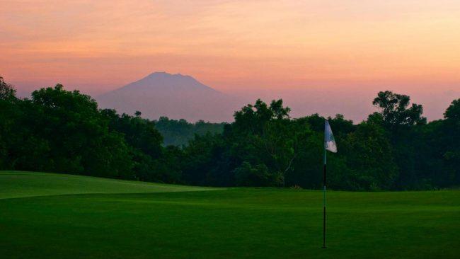 Bali National Mountain View