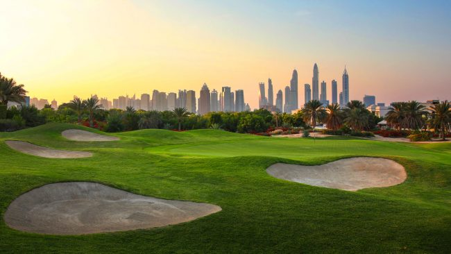 address montgomerie dubai city skyline