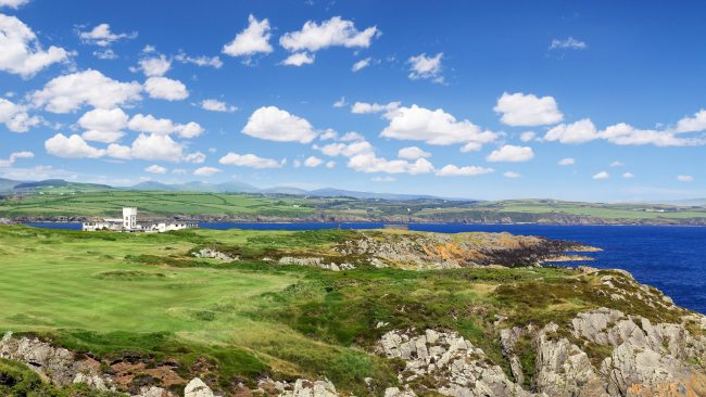 castletown golf links coastal views