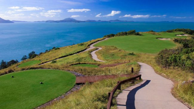 hamilton island golf club coast views