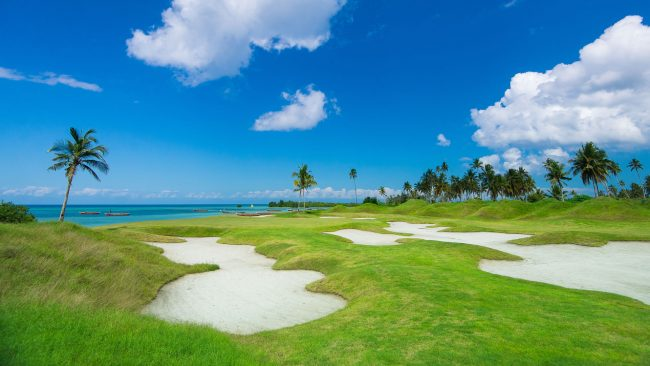 seacliff resort palm and bunkers
