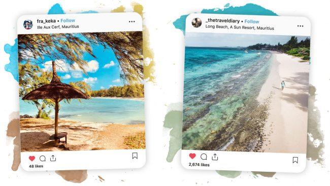 mauritius beaches instagram