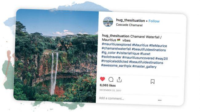 mauritius island waterfalls