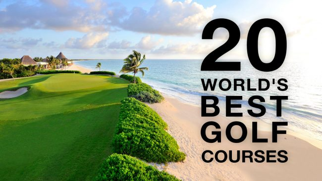 20 best golf course header