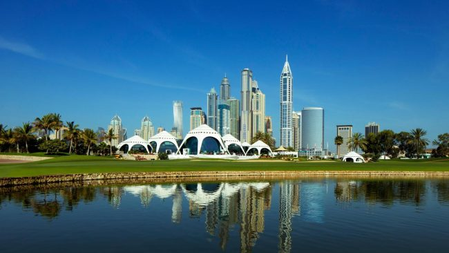 emirates golf club majlis course-