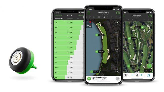 golf gift sensor