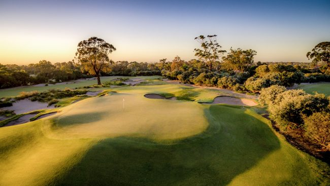 kingston heath golf australia