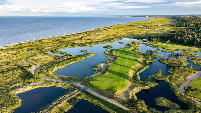 parnu bay golf links estonia