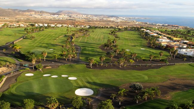golf costa adeje spain