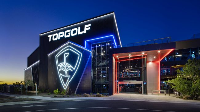 topgolf brand building