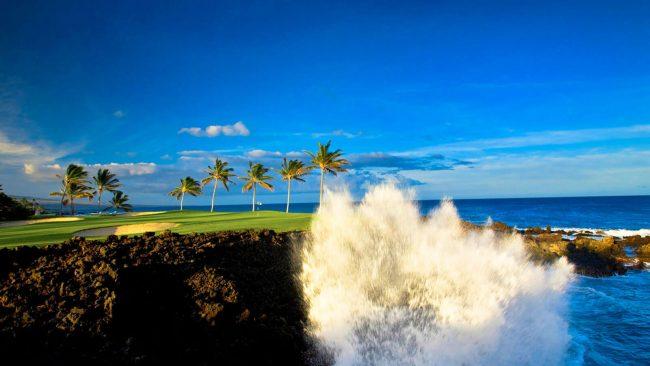 waikoloa beach course at hilton waikoloa village hawaii