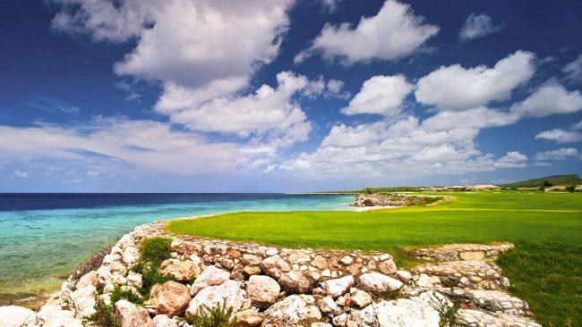 old quarry golf course at santa barbara curacao
