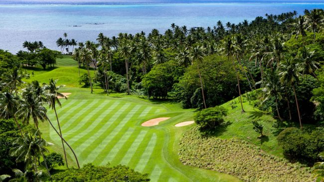 laucala island golf course fiji