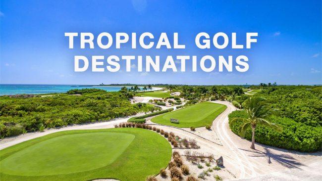 tropical golf destinations header