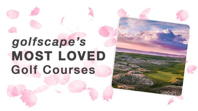 golfscape's most loved golf courses header image
