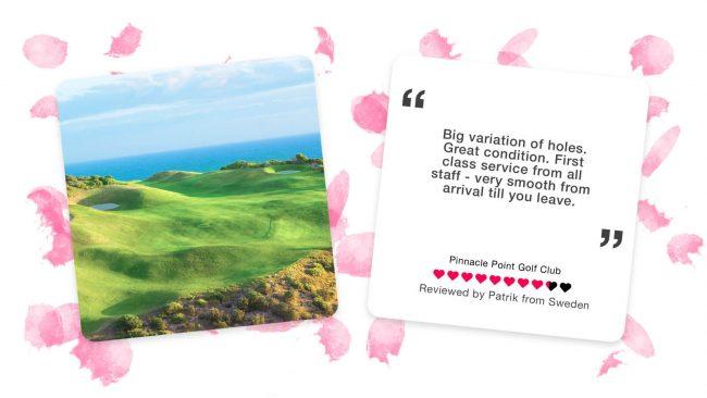 pinnacle point golf club garden route