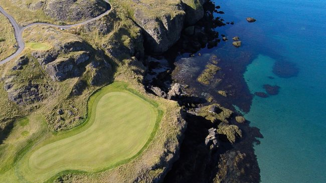 brautarholt golf club iceland