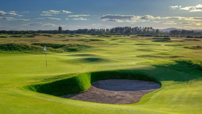 carnoustie golf links championship course scotland