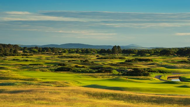 The Championship Course at Carnoustie Golf Links, Scotland