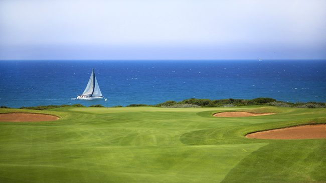 The Dunes Course at Costa Navarino, Greece