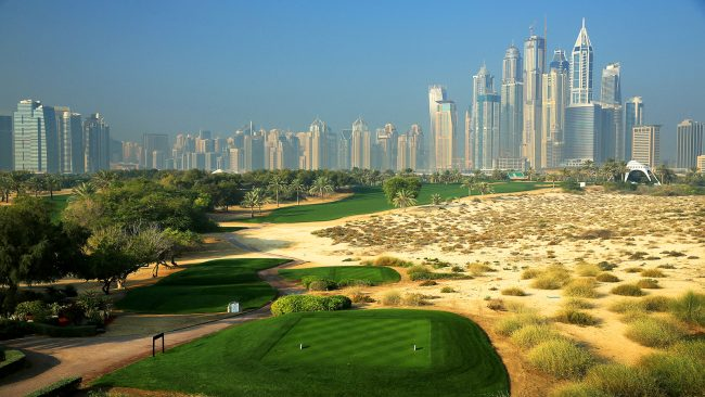 The Majlis Course at Emirates Golf Club, Dubai