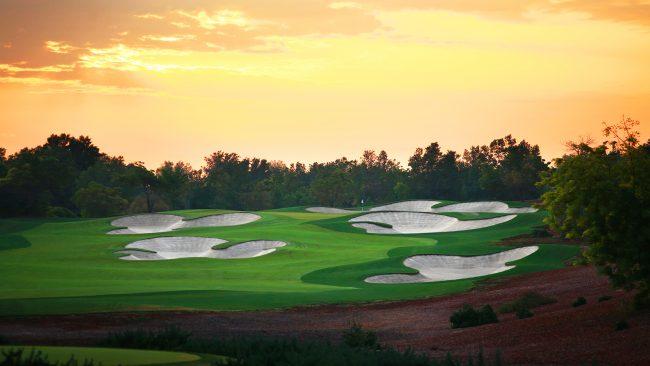 The Earth Course at Jumeirah Golf Estates, Dubai