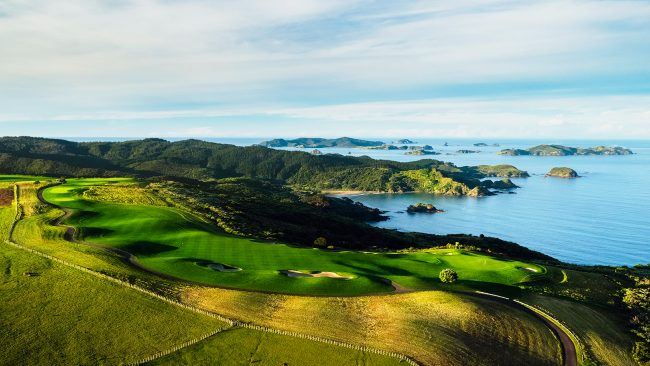Kauri Cliffs Golf Course, New Zealand