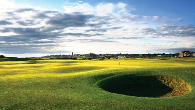 The Old Course at St Andrews, Scotland