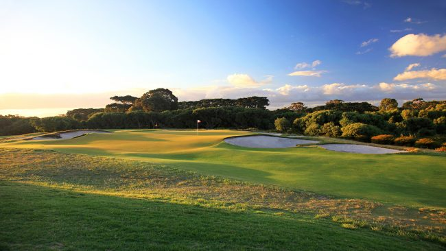 The West Course at Royal Melbourne Golf Club, Australia