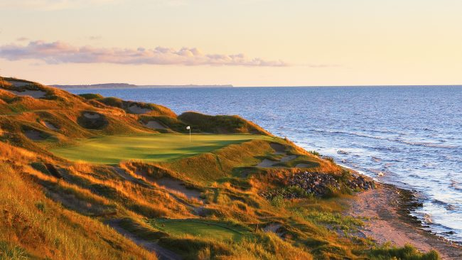 The Straits Course at Whistling Straits, USA